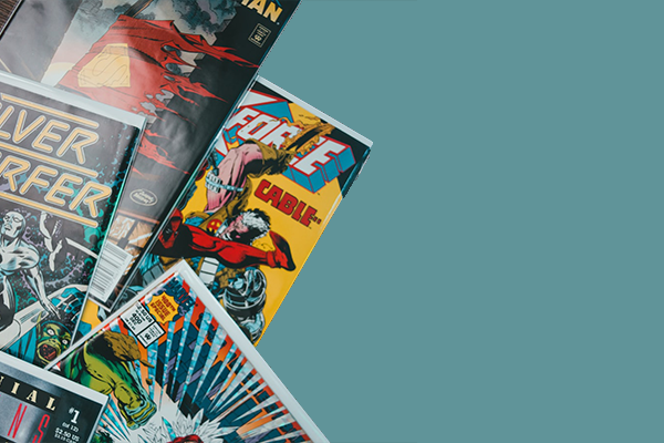 Books, Comics & Magazines