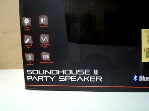 BLACKWEB SOUNDHOUSE II PARTY SPEAKER