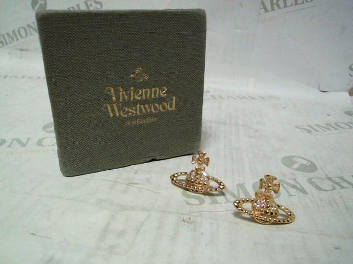 VIVIENNE WESTWOOD GOLD EARRINGS