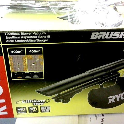 RYOBI OBV18 18V ONE+ CORDLESS BRUSHLESS BLOW-VAC