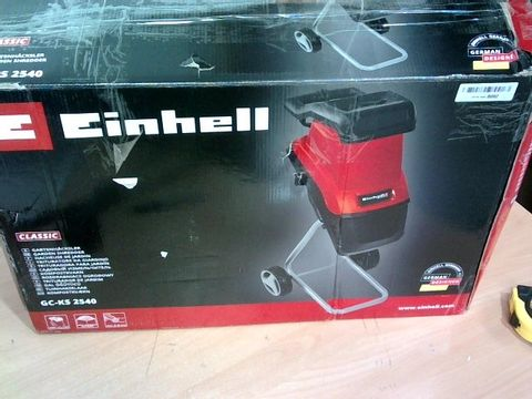 EINHELL ELECTRIC GARDEN SHREDDER GC-KS 2540