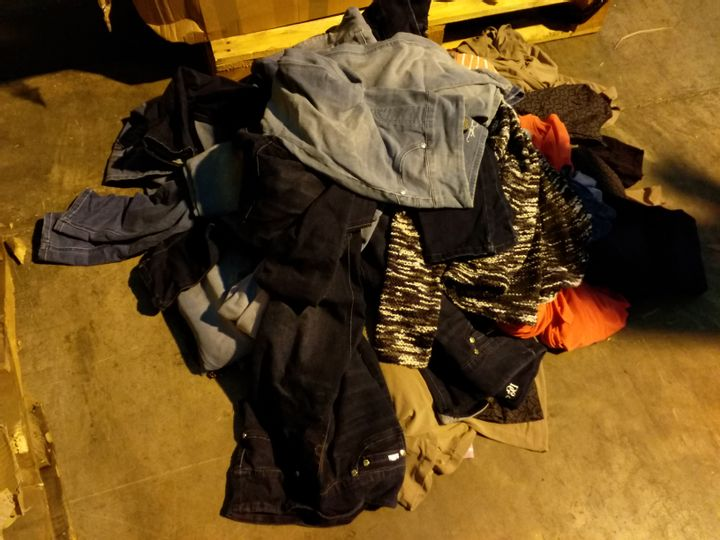 BOX OF 51 ASSORTEE ITEMS OF CLOTHING