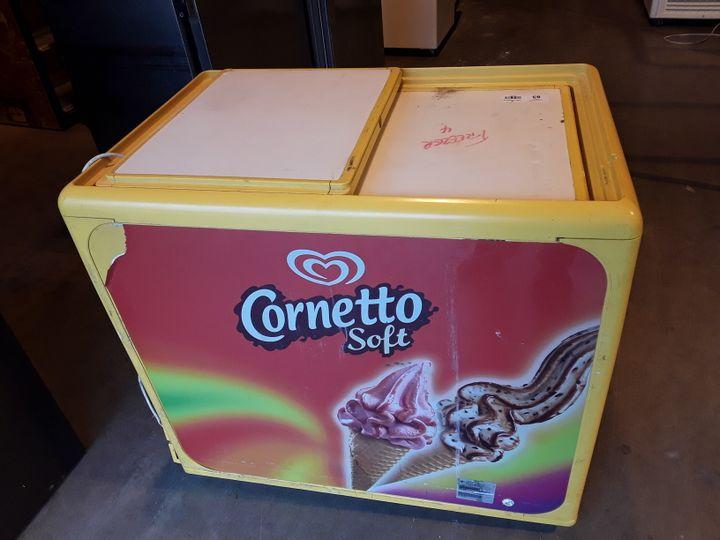 CORNETTO BRANDED ICE CREAM FREEZER