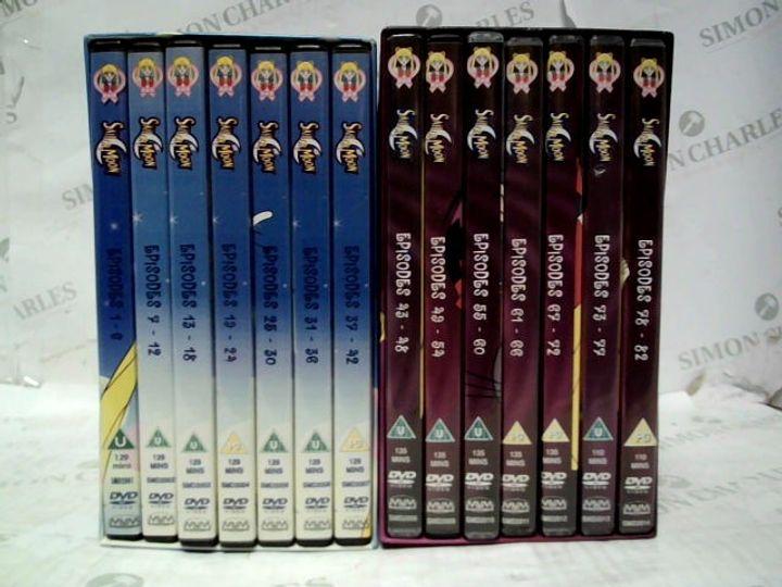 SAILOR MOON DVD SET - EP 1-82