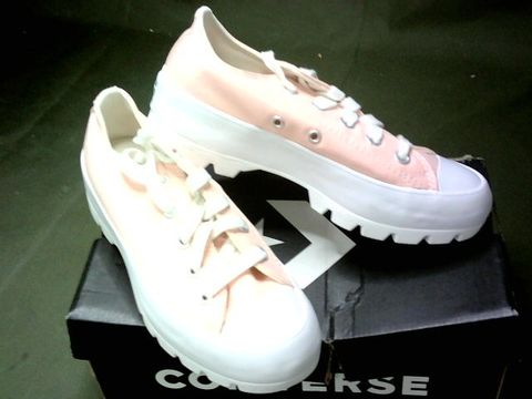 CONVERSE CHUCK TAYLOR ALL STARS TRAINERS - UK SIZE 3, PINK