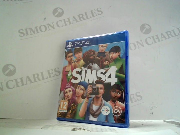 THE SIMS 4 PLAYSTATION 4 GAME