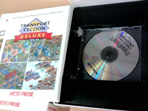 MICRO POSE TRANSPORT TYCOON DELUXE CD-ROM