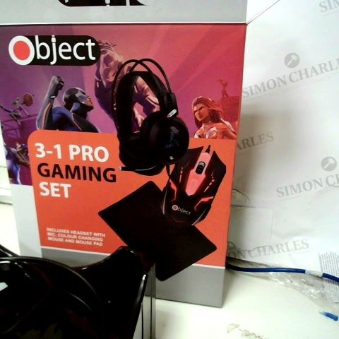 OBJECT 3 IN 1 PRO GAMING SET