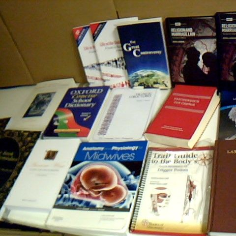 ASSORTMENT OF 16 NON FICTION BOOKS INCLUDING MEDICAL BOOKS AND OXFORD DICTIONARY