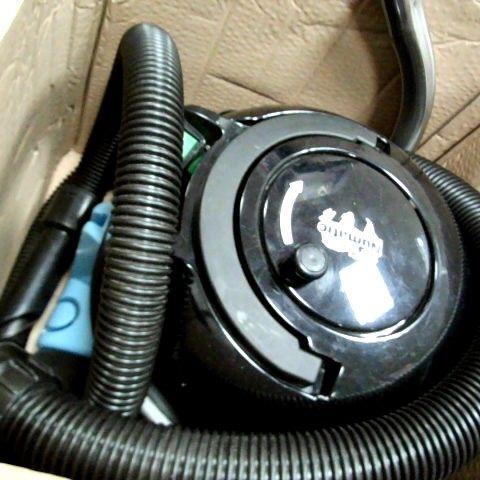 HENRY ALLERGY HVA 160-11 BAGGED CYLINDER VACUUM CLEANER, SUMMER BLUE