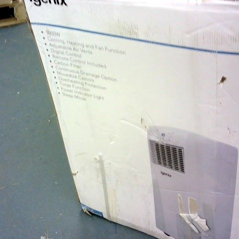 IGENIX 1000W PORTABLE AIR CONDITIONER WHITE