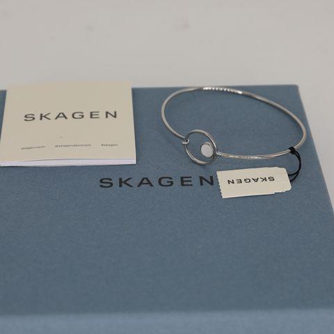 BRAND NEW BOXED SKAGEN BRACELET AGNETHE SILVER TONE