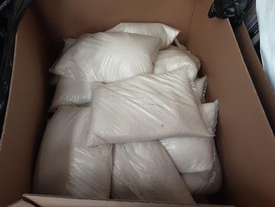 PALLET OF ASSORTED LARGE 25KG BAGS OF ROCK SALT