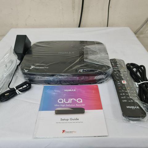 HUMAX AURA 1TB 4K RECORDER - BLACK