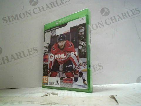 NHL 21 XBOX ONE GAME