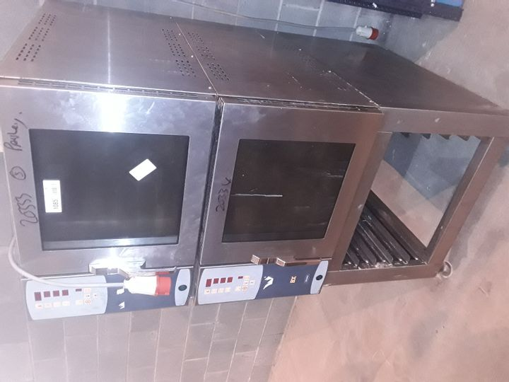MONO CLASSIC BX DOUBLE BAKE OFF OVEN WITH STEAM FACILITY. FG153C-B14