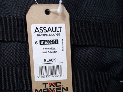 TAC MAVEN ASSAULT BACKPACK LARGE