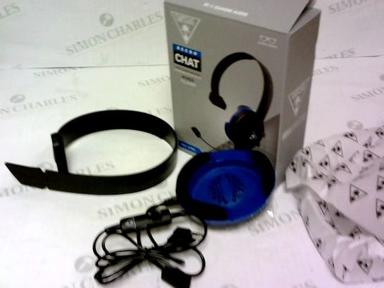 TURTLE BEACH RECON CHAT BLACK WIRED HEADSET