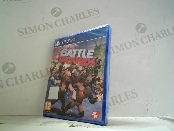 BATTLE GROUNDS PLAYSTATION 4 GAME