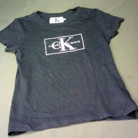 CALVIN KLEIN SHIRT IN BLACK - XS