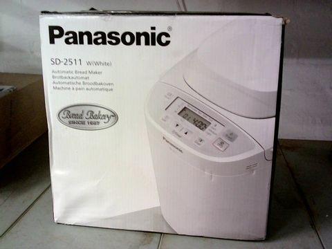 PANASONIC SD-2511 AUTOMATIC BREAD MAKER