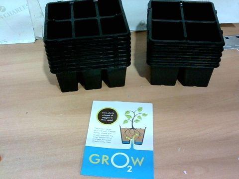 SFIXX GARDEN SET OF 15 MIXED GROW POTS
