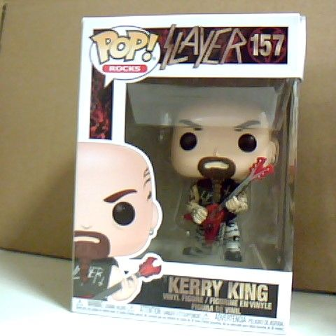 BOXED POP! ROCKS SLAYER KERRY KING VINYL FIGURE 157