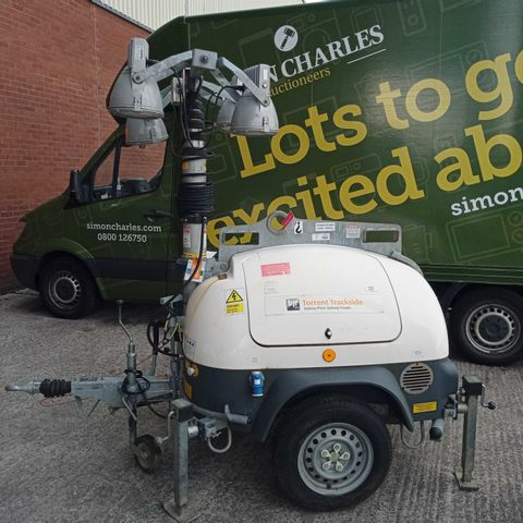 ECOLITE-T DIESEL POWERED PORTABLE LIGHTING TOWER, TELESCOPIC TOWER WITH 4 LIGHTS