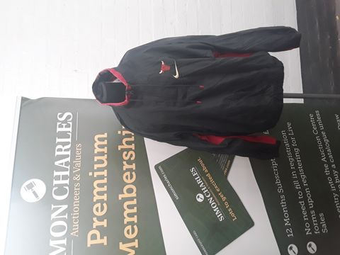 NIKE GREY AND RED NBA TRACKSUIT SIZE L