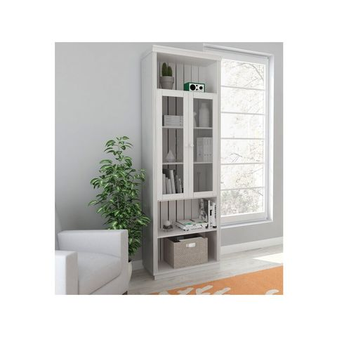 BOXED SOLID PINE WHITE FRENCH DOORS (1 BOX)