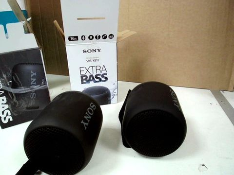 EXTRABASS SONY SRS-XB12