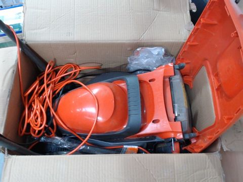 FLYMO CHEVRON 32VC ELECTRIC WHEELED LAWNMOWER