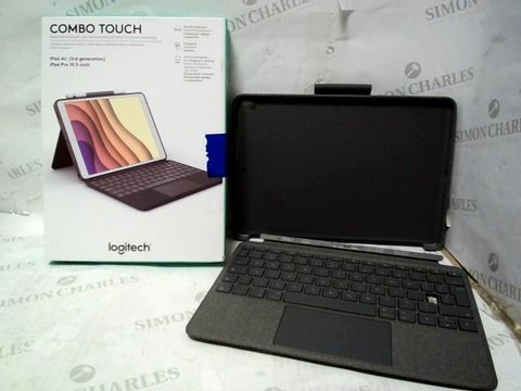 LOGITECH COMBO TOUCH KEYBOARD FOR IPAD AIR (3RD GEN) & IPAD PRO 10.5 INCH