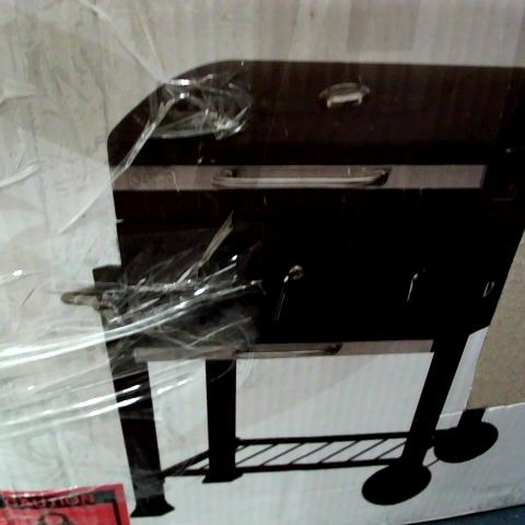 TEPRO TORONTO CLICK MODEL 2019 BARBECUE TROLLEY ANTHRACITE/STAINLESS STEEL