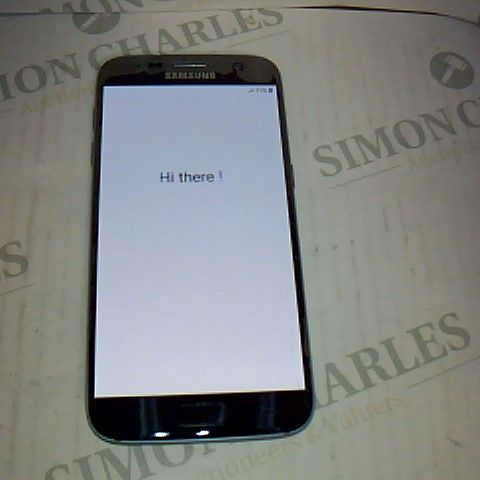SAMSUNG GALAXY S7 ANDROID SMART PHONE - MODEL SM-G930F - POWERS ON