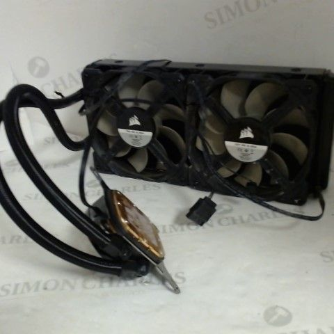 CORSAIR HYDRO H100 240MM LIQUID CPU COOLER