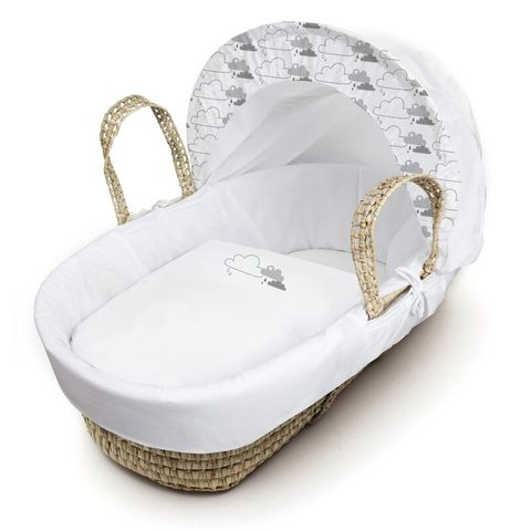 BOXED BUTCHER MOSES BASKET WITH STAND