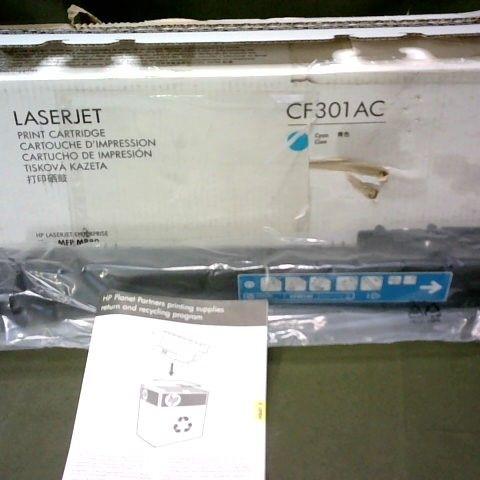 HP LASERJET CF301AC PRINT CARTRIDGE - CYAN