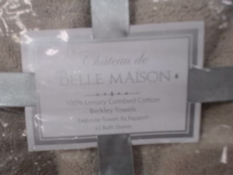 LOT OF ASSORTED CHATEAU DE BELLE MAISON TOWELS