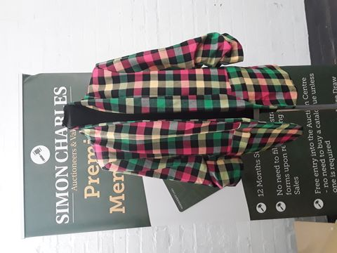 FIRENZE PINK/YELLOW/GREEN PATTERNED JACKET SIZE UNSPECIFIED