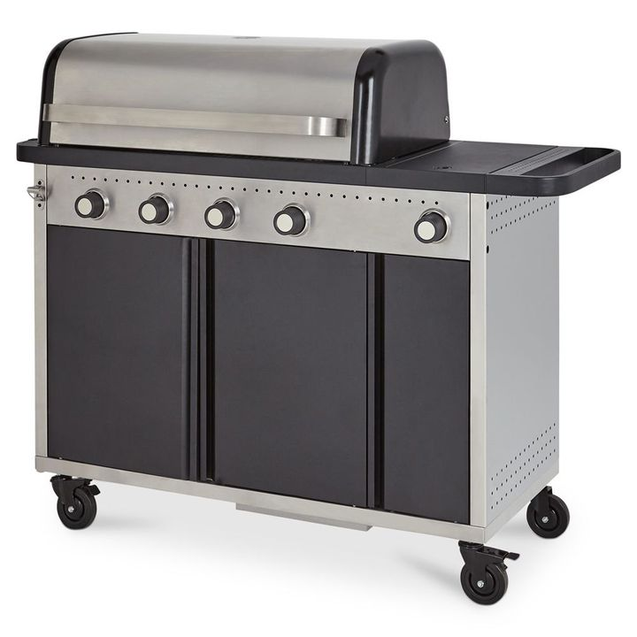 BOXED GOOD HOME ROCKWELL HYBRID BARBECUE BOX 2