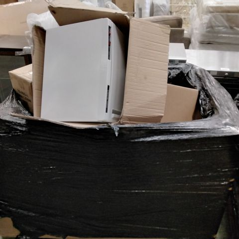 PALLET ASSORTED BOXED ITEMS, INCLUDING, DESK ORGANISERS, PET BEDS, ELECTRIC TOWEL WARMER