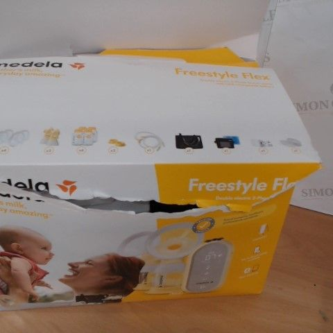 MEDELA FREESTYLE FLEX DOUBLE ELECTRIC 2 PHASE BREAST PUMP