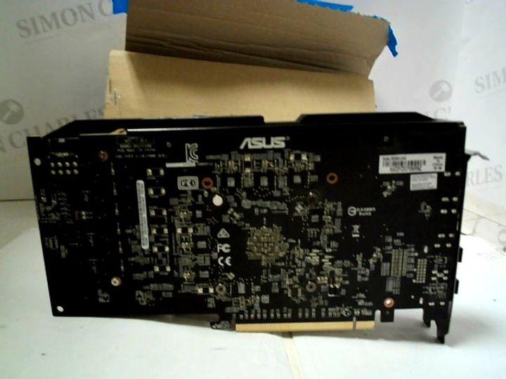 ASUS DUAL SERIES RADEON RX580 GRAPHICS CARD