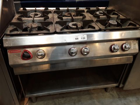 ANGELOPO 6 BURNER GAS RANGE