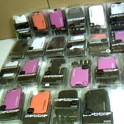 ASSORTED LOT OF APPROX 22 PEBBLE VERTO PORTABLE BATTERY CHARGER DEVICES