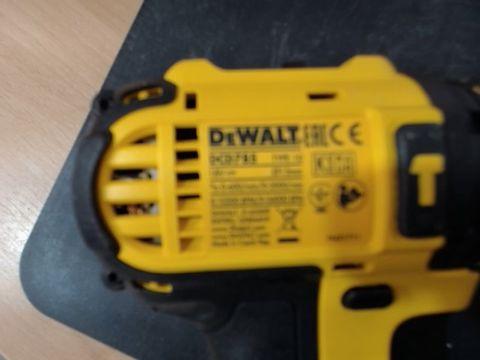 DEWALT 18V LI-ION DCD785 CORDLESS DRILL