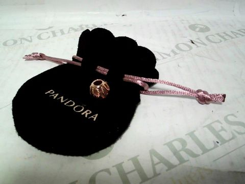 PANDORA PINK GOLD CHARM