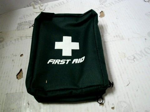 BOX OF A SIGNIFICANT QUANTITY OF FIRST AID KIT CONTAINERS (NO KIT INCLUDED)