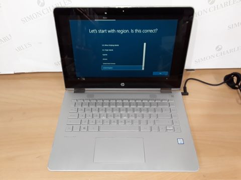 HP PAVILION INTEL CORE I-5 8TH GEN LAPTOP IN SILVER - TPN-W125